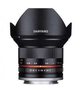 SAMYANG 12MM f/2.0 NCS CS Fuji X Noir