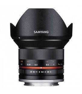 SAMYANG 12MM f/2.0 NCS CS Fuji X Black