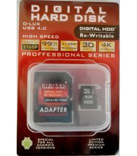 HDD MICRO SD MEMORY CARD 4GB (Class10)