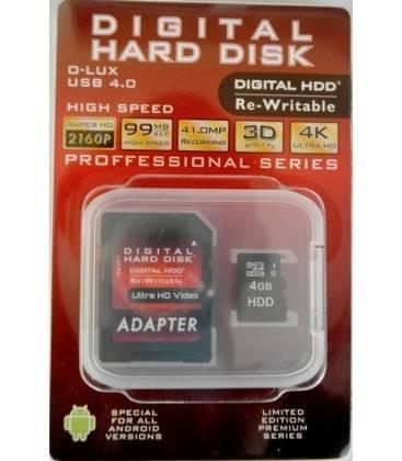 HDD MICRO SD MEMORY CARD 4GB (Class10)
