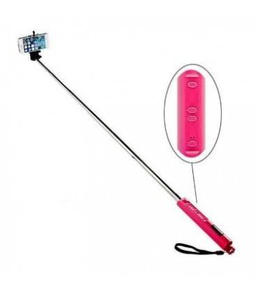 SELFIE MONOPOD WITH BLUETOOTH AND ZOOM BLACK/BLUE-PINK/GREEN