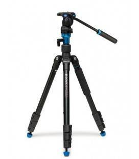 BENRO TRIPOD TRAVEL KIT VIDEO ALUMINIUM AERO 2 A1883FS2C