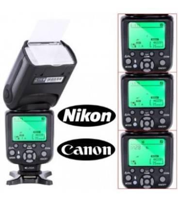 TRIOPO FLASH PREOFESSIONAL CTR-988 PARA CANON Y NIKON