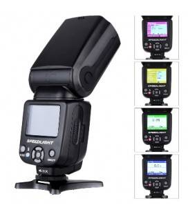TRIOPO FLASHTR-985 COLOR SCREEN FOR CANON