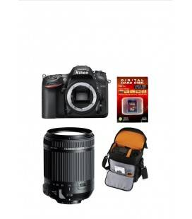 NIKON D7200 BODY + TAMRON 18-200 DI II VC +  TAMRON BAG + SD 8GB HD VIDEO