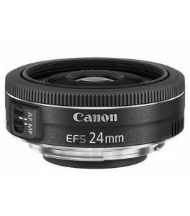 Canon EF-S 24mm f/2,8 STM + 1 ANNO GRATUITO SERPLUS CANON DI MANUTENZIONE VIP SERPLUS CANON