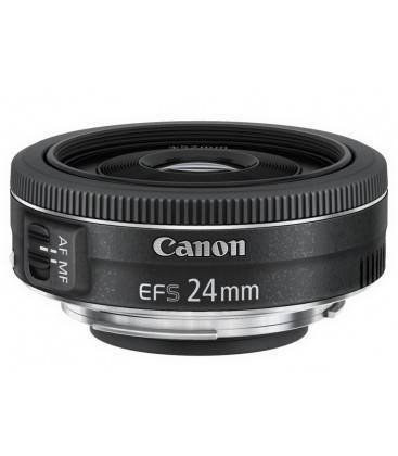 Canon EF-S 24mm f/2.8 STM + FREE 1 AN VIP MAINTENANCE SERPLUS CANON