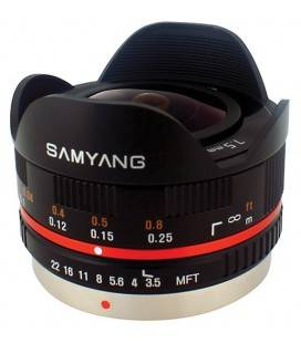 SAMYANG 7,5 MM F3,5 UMC PESCE UMC OCCHIO MICRO 4/3