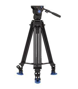BENRO KIT TRIPODE VIDEO DOBLE TUBO ALUMINIO A673TMBS8