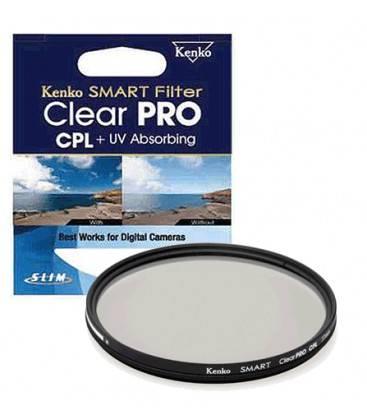 KENKO FILTRO CLEAR PRO CPL+ UV 77MM