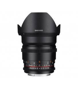 SAMYANG OBJETIVO 16mm T2.2 V-DSLR ED AS UMC CS Sony E