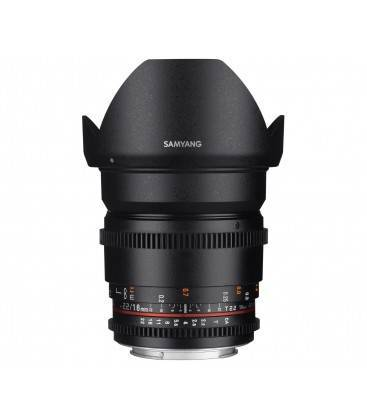 SAMYANG OBJETIVO 16mm T2.2 V-DSLR ED AS UMC CS Sony E