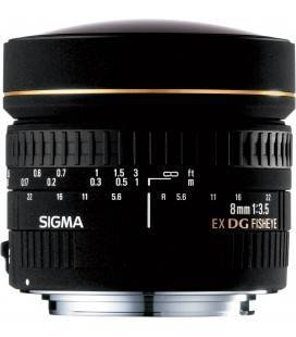 SIGMA OBJECTIVE  8mm f / 3.5 EX DG FISH EYE (FOR NIKON)