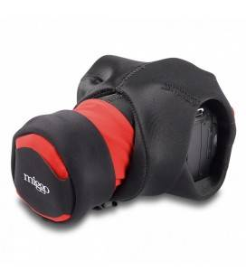 MIGGÖ GRIP & WRAP FOR DSLR CAMERAS (RED/BLACK)