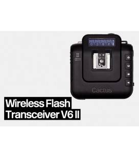 CACTUS V6 II HSS WIRELESS TRANSMITTER/RECEIVER - FLASH TRIGGER