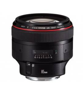 CANON EF 85mm f/1.2 L USM II + FREE 1 an VIP MAINTENANCE SERPLUS CANON