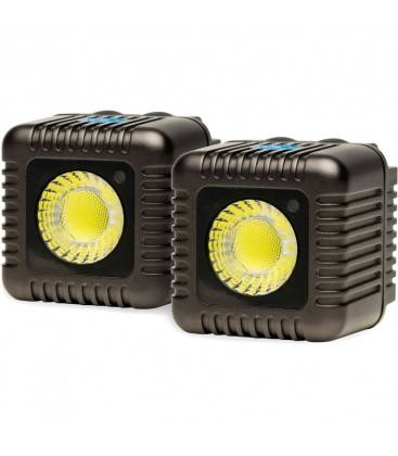 LUME CUBE ANTORCHA (TWO LED) GRIS OSCURO