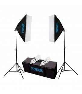 FOTIMA KIT FLASH DE ESTUDIO FTF-85