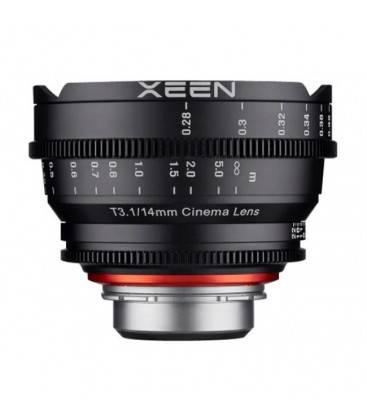 SAMYANG XEEN  14mm T3.1 FF CINE PL PARA CANON