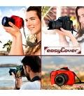 EASYCOVER PROTECTIVE COVER FOR CANON EOS 7D MARK II RED