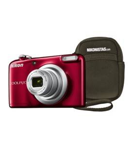 NIKON COOLPIX A10 ROT + COVER