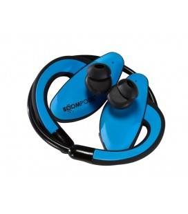 BOOMPODS SPORTSPODS HEADSET WITH BLUETOOTH BLACK/BLUE