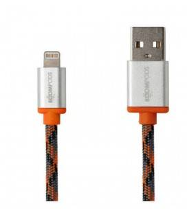 BOOMPODS RETRO LIGHTNING CABLE APPLE-ORANGE