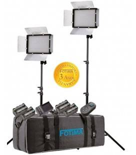 FOTIMA STUDY KIT FTL-680 EQUIPMENT WITH LED PANEL AND BATTERIES