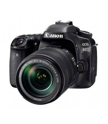 CANON EOS 80D + 18-135mm IS USM + DSLR BAG GRATUIT