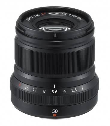OBIETTIVO FUJIFILM XF 50mm f/2 R WR NERO/BLACK