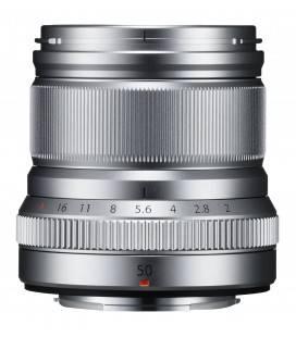 FUJIFILM OBJECTIF XF 50mm f/2 R WR SILVER/ SILVER ARGENT