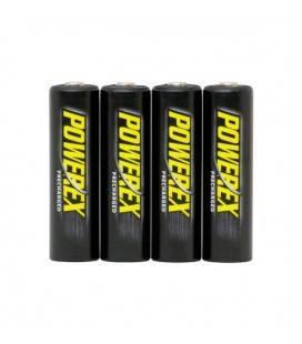 BATTERIE PRECARICATE POWEREX (4 PEZZI AA) 2600MAH