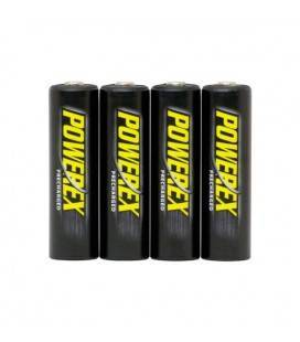 POWEREX PRE-CHARGED BATTERIES (4 PCS AA) 2600MAH