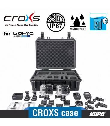 KUPO MALETA CX3009GP2 CROXS PARA GOPRO