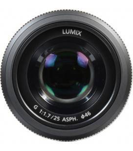 PANASONIC LUMIX  G 25 mm/F1.7  BLACK + 25 EUROS CASHBACK