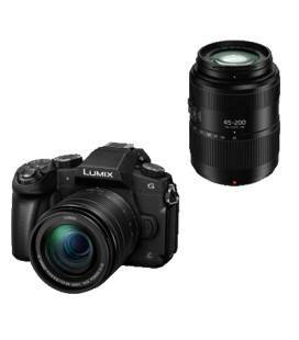 PANASONIC DMC G80 +12-60 + 45-200 4K WIFI (DOUBLE KIT) + 100 EUROS CASHBACK DIRECT