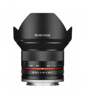 SAMYANG 12MM f/2.0 NSC MFT Black