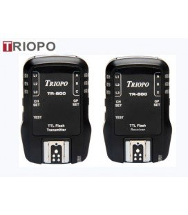 TRIOPO RECEIVER AND TRANSMITTER KIT TR-800 FOR CANON