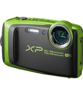 FUJIFILM FINEPIX XP120 AQUATIC LIME-GREEN 20MTS.