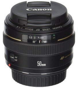CANON EF 50mm f1.4 USM + 1 ANNO GRATUITO SERPLUS CANON VIP MAINTENANCE SERPLUS CANON
