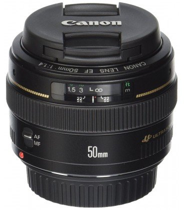 CANON EF 50mm f1.4 USM + FREE 1 an VIP MAINTENANCE SERPLUS CANON