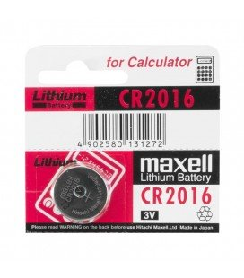 MAXELL BUTTON STACK CR2016