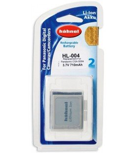 HAHNEL BATTERY HL-004 (REPLACES PANASONIC CGA-S004)
