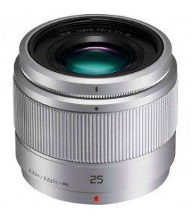 PANASONIC LUMIX  G 25 mm/F1.7 ASPH PLATA