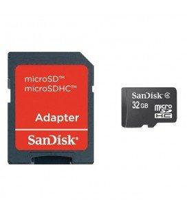 SANDISK 32GB CLASE 4 MICRO SD TRANSFLASH