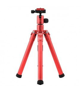 MEFOTO TRIPODE KIT BACKPACKER AIR KIT  ROJO