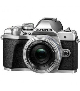 OLYMPUS E-M10 MARK III SILVER KIT PANCAKE DZK 14-42MM IR