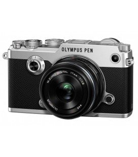 OLYMPUS PEN-F + 17MM KIT (PENF PLATA+17MM 1.8 NEGRO)
