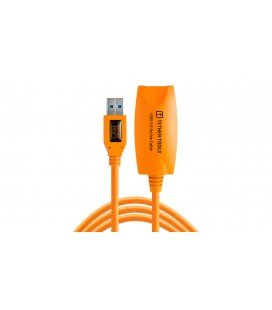 TETHER TOOLS KABEL USB 3.0 AKTIVE VERLÄNGERUNG 4,9m ORANGE (CU3017)