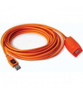 TETHER TOOLS  CABLE DE EXTENSION PRO 2.0 4.9M (CU5430ORG)
